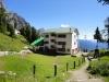 Il Rifugio De Gasperi: sede dei corsi settimanali.